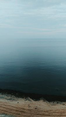 Free Scenic View Of The Ocean Stock Photography - 115628212