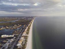 Free Bird S Eye View Of Coastline Stock Images - 115628264