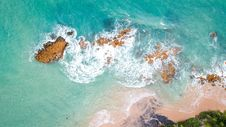 Free High Angle Photography Of Ocean Royalty Free Stock Image - 115628456