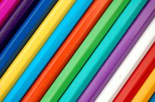 Free Pencil Rainbow Royalty Free Stock Image - 11571116