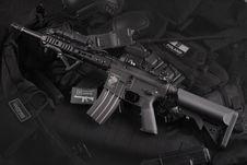 Free Black Rifle Stock Photo - 115773750