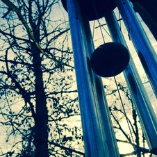 Free Gray Metal Wind Chimes Royalty Free Stock Photos - 115773988
