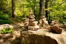 Free Rock, Tree, Path, Forest Stock Image - 115806301