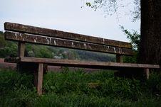 Free Bench, Grass, Wood, Girder Bridge Stock Images - 115807164