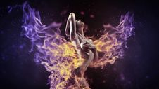 Free Purple, Flame, Darkness, Violet Royalty Free Stock Photo - 115807165