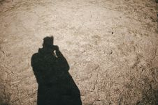 Free Shadow Of Person Royalty Free Stock Image - 115844006