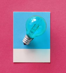 Free Blue, Bulb, Card Royalty Free Stock Photo - 115861835