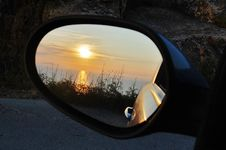 Free Reflection, Automotive Mirror, Mode Of Transport, Rear View Mirror Stock Photography - 115876452