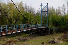 Free Bridge, Truss Bridge, Water, Tree Stock Image - 115876501