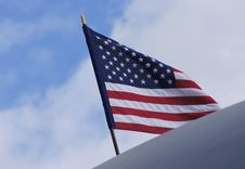 Free Flag, Sky, Flag Of The United States, Cloud Stock Photos - 115876723
