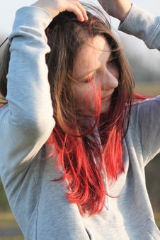 Free Hair, Red, Human Hair Color, Nose Royalty Free Stock Images - 115878009