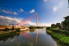 Free Waterway, Bridge, Reflection, Sky Royalty Free Stock Image - 115878016
