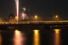 Free Reflection, Night, Bridge, Body Of Water Stock Image - 115878081