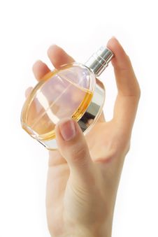 Free Perfume Bottle Royalty Free Stock Image - 11590716