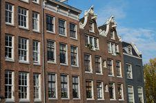 Free Amsterdam Houses Stock Photos - 11595923
