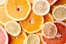 Free Sliced Orange Fruits Stock Photo - 115913670