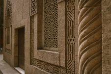 Free Beige Concrete Walls Royalty Free Stock Image - 115976926