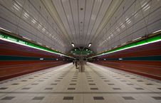 Free Empty Train Station Stock Images - 115976954