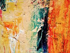 Free Abstract Painting Royalty Free Stock Photo - 115977075