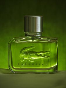 Free Lacoste Essential Fragrance Bottle Stock Images - 115977144