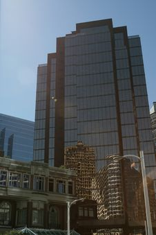 Free Office Tower Downtown Royalty Free Stock Image - 1161676