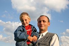 Free Grandfather With Boy Stock Images - 1162444