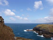 Free Atlantic Coast View From Hilltop Royalty Free Stock Images - 1162879