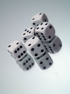 Free Dices Royalty Free Stock Photography - 1162947