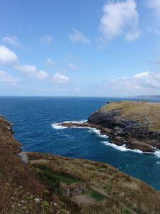 Free Atlantic Coast From Hilltop Royalty Free Stock Photos - 1162968