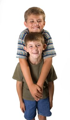 Free Brotherly Love 1 Royalty Free Stock Photography - 1163567