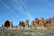 Free Arches National Park Royalty Free Stock Photo - 1163995