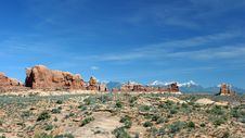 Free Arches National Park Stock Image - 1164011