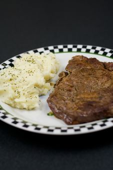Free Ribeye Steak Stock Photos - 1164873