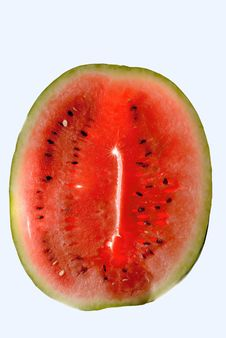 Free Watermelon Over White Stock Images - 1166604