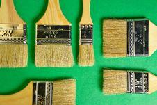 Free Flat Brushes Stock Photos - 1166893