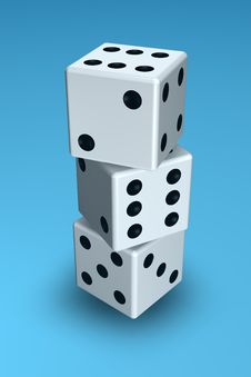 Free Dice Royalty Free Stock Photo - 1166945