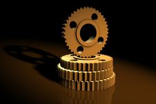 Free 3d Cogs Royalty Free Stock Images - 1167089
