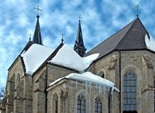 Free Church In Winter Stock Photos - 1167833