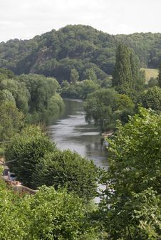 Free Meandering River Stock Images - 1167974