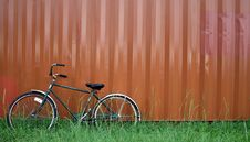 Free Bike Leaning Stock Images - 1168194