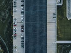 Free Bird S Eye View Of Parking Lot Stock Image - 116049761
