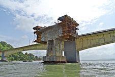 Free Bridge, Waterway, Fixed Link, Girder Bridge Stock Photos - 116069063
