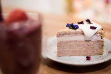 Free Sliced Cake Stock Photography - 116147452