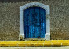 Free Blue, Wall, Yellow, Window Stock Image - 116175511