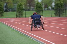 Free Sports, Athletics, Wheelchair Sports, Sport Venue Stock Image - 116175781