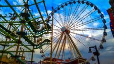 Free Ferris Wheel, Amusement Park, Amusement Ride, Fair Stock Photos - 116175863