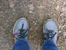 Free Footwear, Purple, Shoe, Grass Stock Image - 116176151