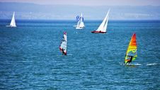 Free Waterway, Windsurfing, Water Transportation, Dinghy Sailing Stock Photo - 116176540