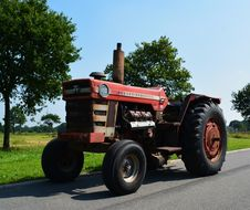 Free Tractor, Agricultural Machinery, Vehicle, Motor Vehicle Royalty Free Stock Photography - 116176797