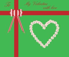 Free Valentine Card Royalty Free Stock Images - 11627769